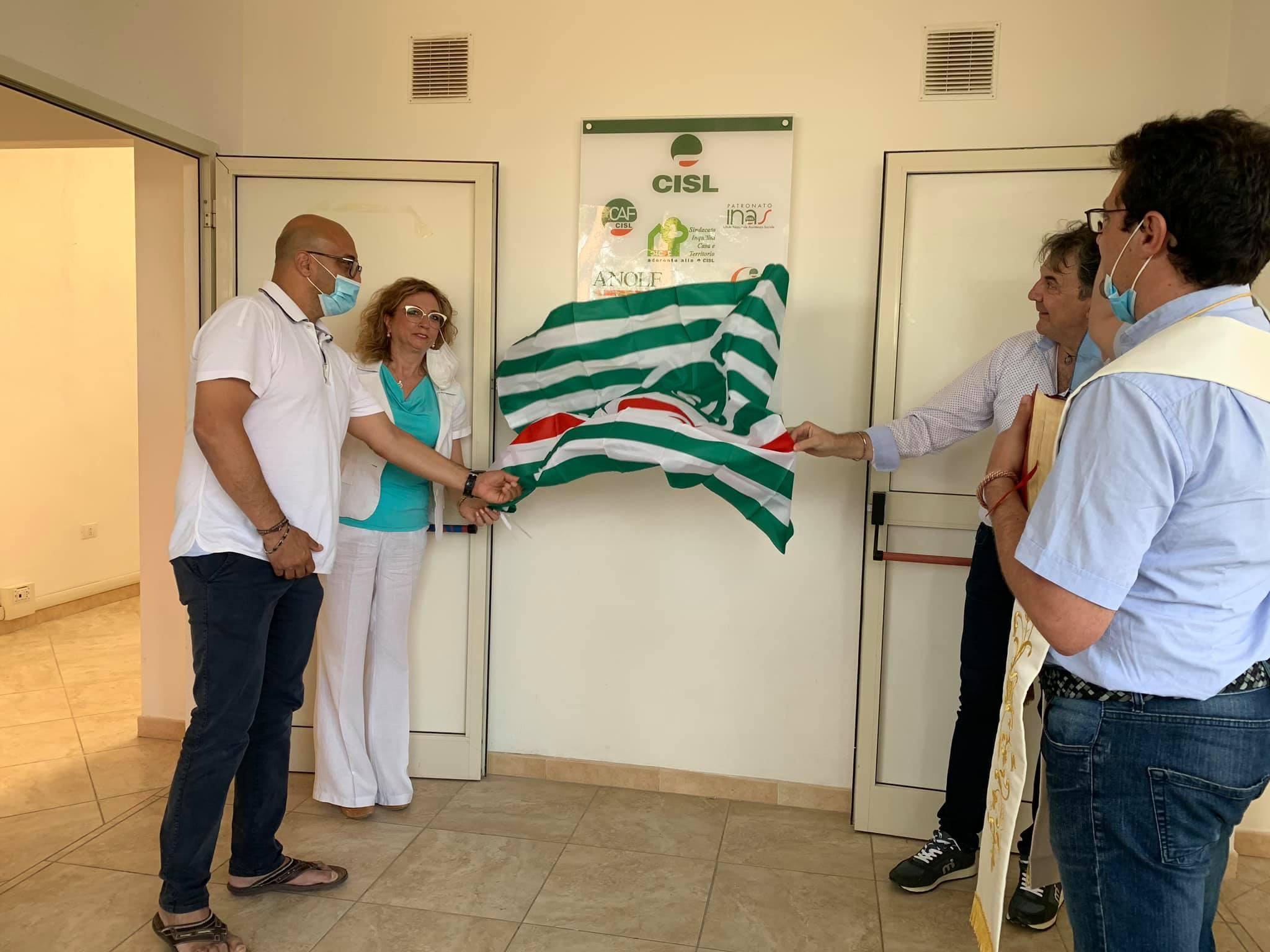 La Cisl di Foggia apre una nuova sede a Chieuti.