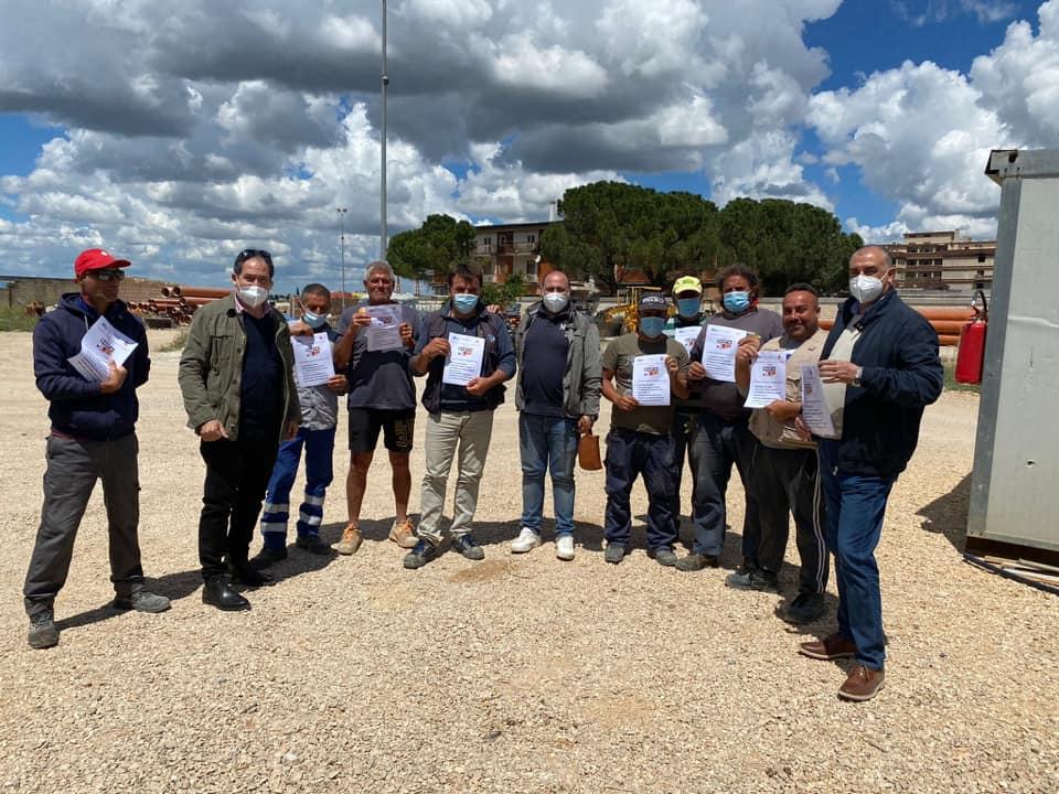 'No alle stragi sui luoghi di lavoro': assemblee in provincia di Foggia.